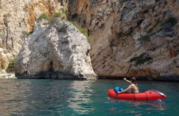 Packrafting on the Coastline of Javea